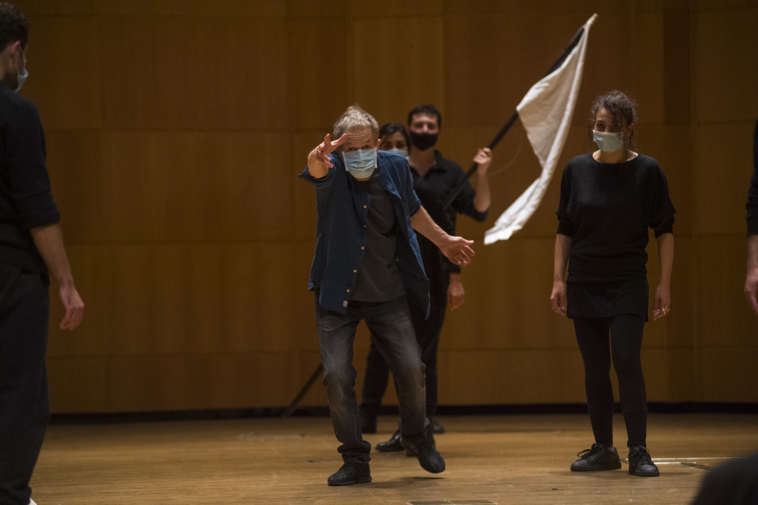 Prove regia Otello con Lavia_foto Michele Lapini